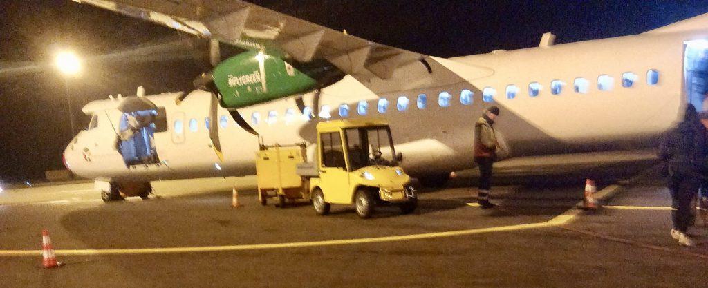 Flyet fra Bornholm til København